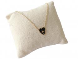Acheter Collier coeur émaillé - 13,99€ en ligne sur La Petite Epicerie - Loisirs créatifs