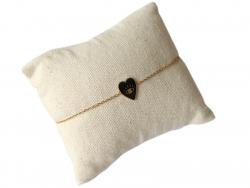 Acheter Bracelet coeur émaillé - 13,99€ en ligne sur La Petite Epicerie - Loisirs créatifs