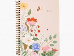 Acheter Agenda Strawberry Fields 2021 à spirales - 16 x 20 cm - Rifle Paper Co. - 29,99€ en ligne sur La Petite Epicerie - L...