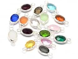 Acheter 1 breloque connecteur ovale vintage - couleur aléatoire - 1,59€ en ligne sur La Petite Epicerie - Loisirs créatifs