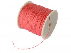 Acheter 1 m de fil de jade / fil nylon tressé 0,5 mm - rouge grenadine - 0,39€ en ligne sur La Petite Epicerie - Loisirs cré...