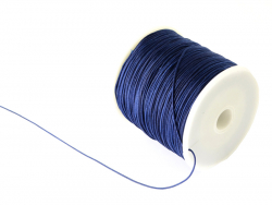 Acheter 1 m de fil de jade / fil nylon tressé 0,5 mm - bleu marine - 0,39€ en ligne sur La Petite Epicerie - Loisirs créatifs