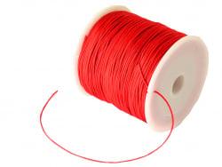 Acheter 1 m de fil de jade / fil nylon tressé 0,5 mm - rouge - 0,39€ en ligne sur La Petite Epicerie - Loisirs créatifs