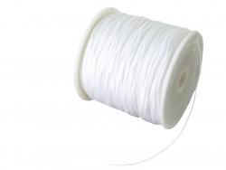 Acheter 1 m de fil de jade / fil nylon tressé 0,5 mm - blanc - 0,39€ en ligne sur La Petite Epicerie - Loisirs créatifs