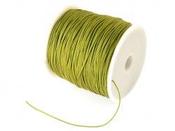 Acheter 1 m de fil de jade / fil nylon tressé 0,5 mm - vert olive - 0,39€ en ligne sur La Petite Epicerie - Loisirs créatifs