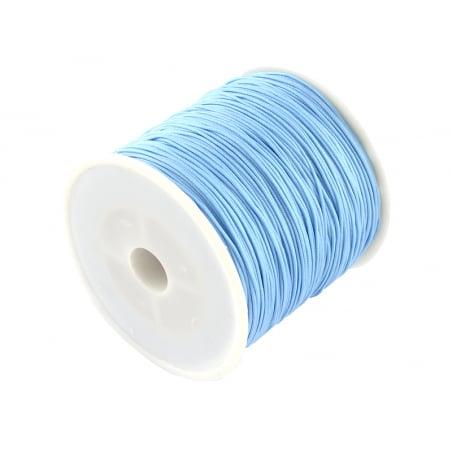 Acheter 1 m de fil de jade / fil nylon tressé 0,5 mm - bleu ciel - 0,39€ en ligne sur La Petite Epicerie - Loisirs créatifs