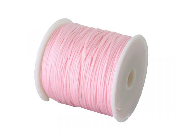 Acheter 1 m de fil de jade / fil nylon tressé 0,5 mm - rose - 0,39€ en ligne sur La Petite Epicerie - Loisirs créatifs