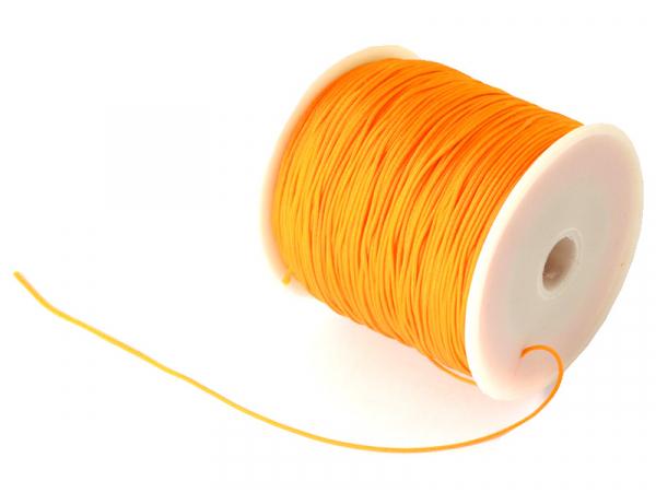 Acheter 1 m de fil de jade / fil nylon tressé 0,5 mm - orange - 0,39€ en ligne sur La Petite Epicerie - Loisirs créatifs