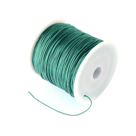 Acheter 1 m de fil de jade / fil nylon tressé 0,5 mm - vert menthe - 0,39€ en ligne sur La Petite Epicerie - Loisirs créatifs
