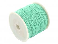 Acheter 1 m de fil de jade / fil nylon tressé 0,5 mm - vert turquoise - 0,39€ en ligne sur La Petite Epicerie - Loisirs créa...