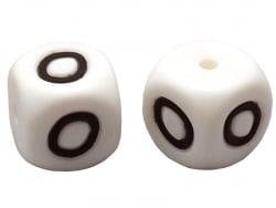 Acheter 1 perle carré 12 mm en silicone - Lettre O - 0,99€ en ligne sur La Petite Epicerie - Loisirs créatifs