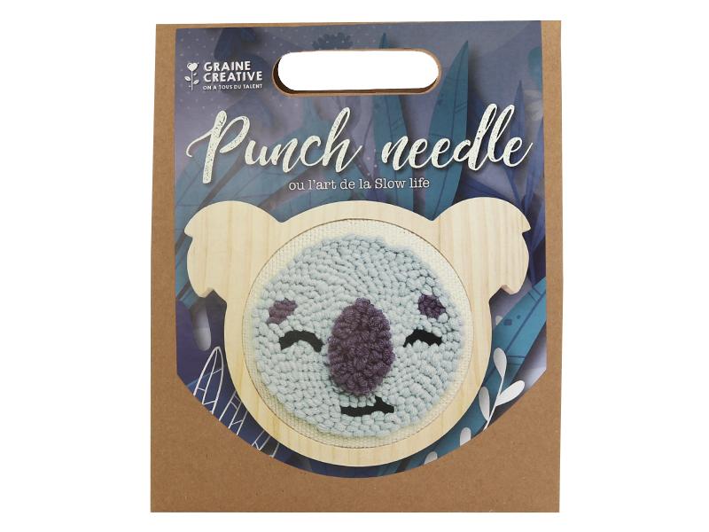 Acheter Kit punch needle - Koala - 18,99€ en ligne sur La Petite Epicerie - Loisirs créatifs