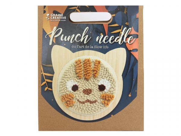 Acheter Kit punch needle - Chat - 16,99€ en ligne sur La Petite Epicerie - Loisirs créatifs