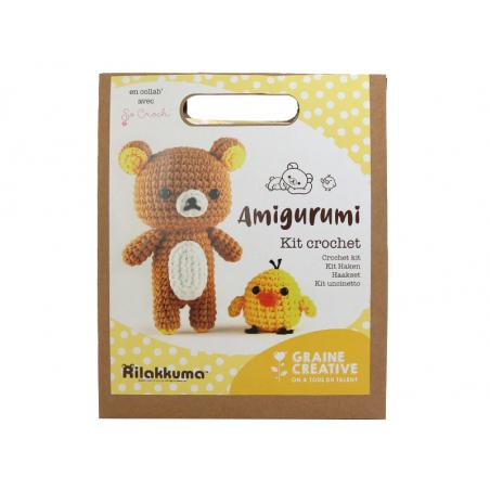 Acheter Kit crochet amigurumi So Croch' - Rilakkuma et poussin - 13,69€ en ligne sur La Petite Epicerie - Loisirs créatifs