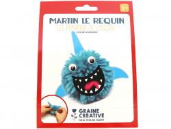 Acheter Kit Martin le requin - Les pompons de l'océan - 2,39€ en ligne sur La Petite Epicerie - Loisirs créatifs