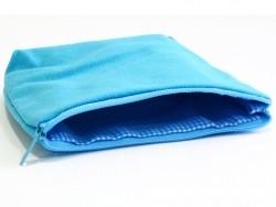 Trousse à soufflets bleue - M
