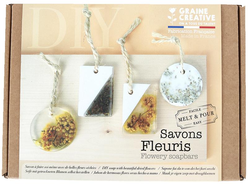 Acheter Coffret Savons fleuris à faire soi-même - 14,79€ en ligne sur La Petite Epicerie - Loisirs créatifs