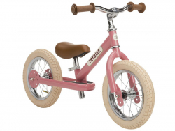 Acheter Draisienne 2 roues vintage rose - Trybike - 99,00€ en ligne sur La Petite Epicerie - Loisirs créatifs