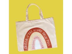 Acheter Tote bag Arc-en-ciel - La Petite Epicerie - 9,99€ en ligne sur La Petite Epicerie - Loisirs créatifs