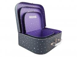 Acheter Lot de 3 valisettes Licorne violet - Sass and Belle - 22,19€ en ligne sur La Petite Epicerie - Loisirs créatifs