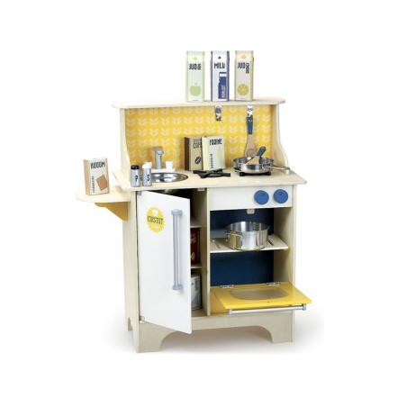 Acheter Cuisine Cuistot moutarde - Vilac - 129,99€ en ligne sur La Petite Epicerie - Loisirs créatifs