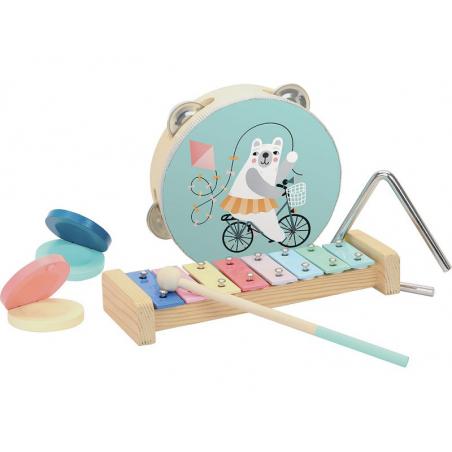 Acheter Set de musique percussions - Vilac - 29,99€ en ligne sur La Petite Epicerie - Loisirs créatifs