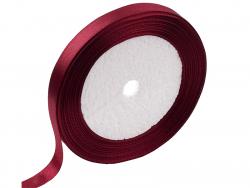 Acheter 1 m de ruban satin bordeaux - 12 mm - 0,49€ en ligne sur La Petite Epicerie - Loisirs créatifs