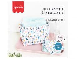 Acheter KIT MKMI - Mes lingettes démaquillantes - blanc/mint - 16,99€ en ligne sur La Petite Epicerie - Loisirs créatifs