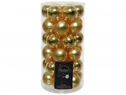 Acheter Lot de 36 boules de Noël en verre - or clair - 4 cm - 11,99€ en ligne sur La Petite Epicerie - Loisirs créatifs