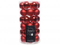 Acheter Lot de 36 boules de Noël en verre - rouge Noël - 4 cm - 11,99€ en ligne sur La Petite Epicerie - Loisirs créatifs