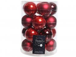 Acheter Lot de 20 boules en verre - tons rouges assorties - 6 cm - 12,49€ en ligne sur La Petite Epicerie - Loisirs créatifs