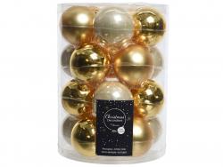 Acheter Lot de 20 boules en verre - tons dorés assortis - 6 cm - 12,49€ en ligne sur La Petite Epicerie - Loisirs créatifs