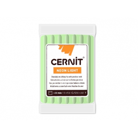 Acheter Pâte CERNIT Neon Light - Vert - 1,89€ en ligne sur La Petite Epicerie - Loisirs créatifs