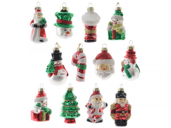 Acheter Boule de Noël en verre - design suprise / aléatoire - 1,99€ en ligne sur La Petite Epicerie - Loisirs créatifs
