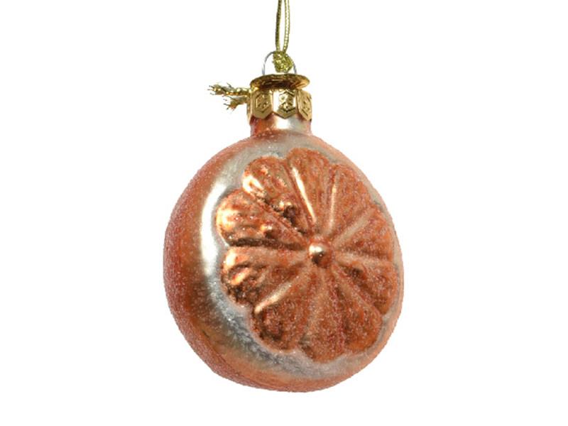 Acheter Boule de Noël en verre en forme de fruit - orange - 2,49€ en ligne sur La Petite Epicerie - Loisirs créatifs