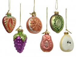Acheter Boule de Noël en verre en forme de fruit - kiwi - 2,49€ en ligne sur La Petite Epicerie - Loisirs créatifs