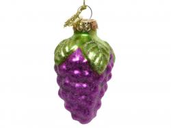 Acheter Boule de Noël en verre en forme de fruit - raisin - 2,49€ en ligne sur La Petite Epicerie - Loisirs créatifs