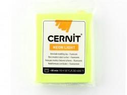 CERNIT-Modelliermase Neon Light - gelb