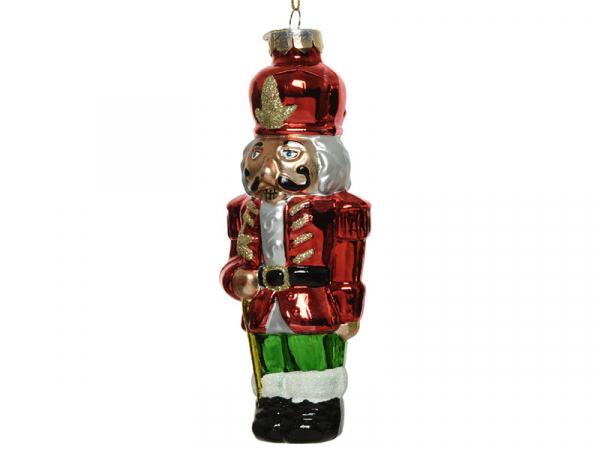 Acheter Boule de Noël casse noisette en verre - rouge - 4,49€ en ligne sur La Petite Epicerie - Loisirs créatifs