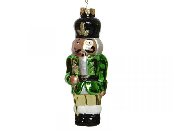 Acheter Boule de Noël casse noisette en verre - vert - 4,49€ en ligne sur La Petite Epicerie - Loisirs créatifs