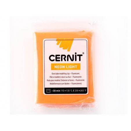 Acheter Pâte CERNIT Neon Light - Orange - 1,89€ en ligne sur La Petite Epicerie - 100% Loisirs créatifs