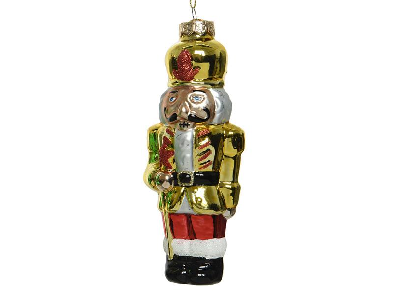Acheter Boule de Noël casse noisette en verre - doré - 4,49€ en ligne sur La Petite Epicerie - Loisirs créatifs