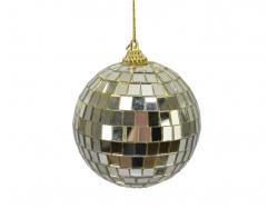Acheter Boule de Noël - boule à facettes miroir doré - 2,49€ en ligne sur La Petite Epicerie - Loisirs créatifs
