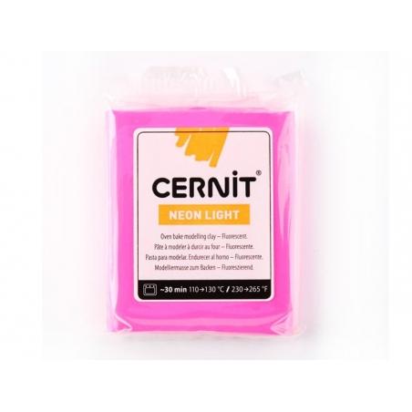 CERNIT clay Neon Light - fuchsia
