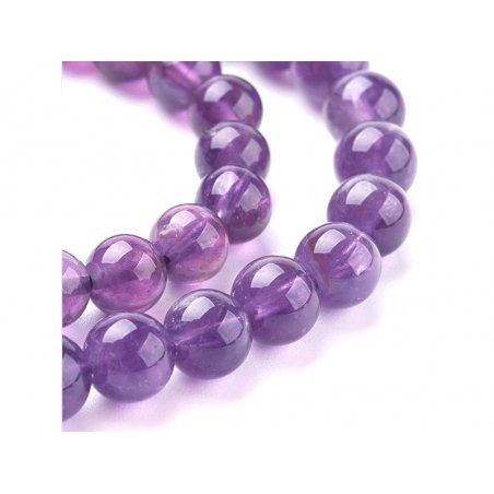 Acheter Lot de 15 perles naturelles 6 mm - Améthyste - 4,89€ en ligne sur La Petite Epicerie - Loisirs créatifs