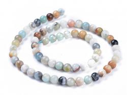 Acheter Lot de 15 perles naturelles 6 mm - Amazonite - 2,59€ en ligne sur La Petite Epicerie - Loisirs créatifs