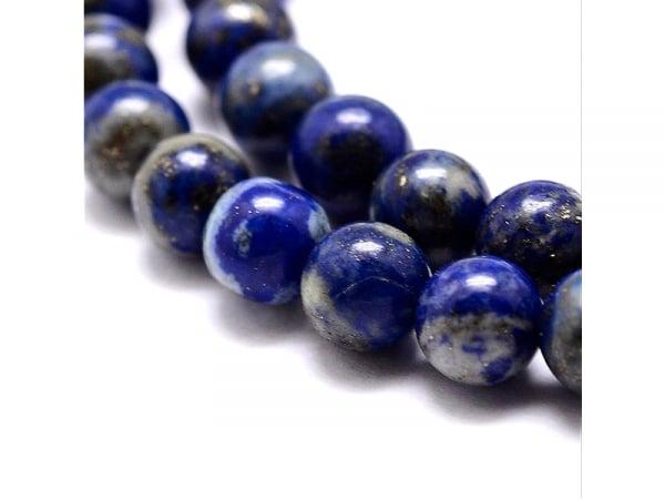 Acheter Lot de 15 perles naturelles rondes 6 mm - Lapis-lazuli - 2,19€ en ligne sur La Petite Epicerie - Loisirs créatifs