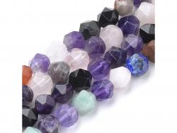 Acheter Lot de 10 perles naturelles et synthétiques 6 mm - Couleurs mixes - 4,19€ en ligne sur La Petite Epicerie - Loisirs ...