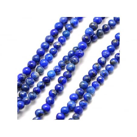 Acheter Lot de 50 perles naturelles 2 mm - Lapis-lazuli - 4,99€ en ligne sur La Petite Epicerie - Loisirs créatifs