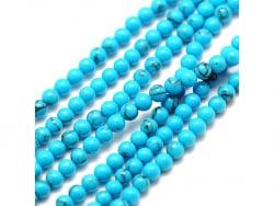 Acheter Lot de 50 perles naturelles 2 mm - Turquoise - 2,69€ en ligne sur La Petite Epicerie - Loisirs créatifs